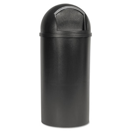 Rubbermaid Commercial Marshal Classic Container  Round  Polyethylene  15 gal  Brown (RCP 8160-88 BRO)