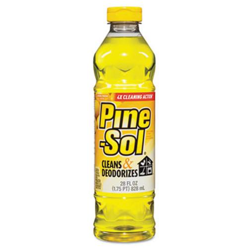 Pine-Sol Multi-Surface Cleaner  Lemon Fresh  28 oz Bottle (CLO 40187)