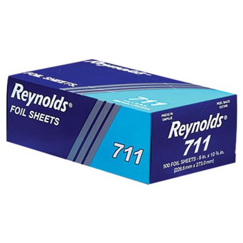 Reynolds Wrap Pop-Up Interfolded Aluminum Foil Sheets  9 x 10 3 4  Silver  3000 Sheet Carton (REY 711)
