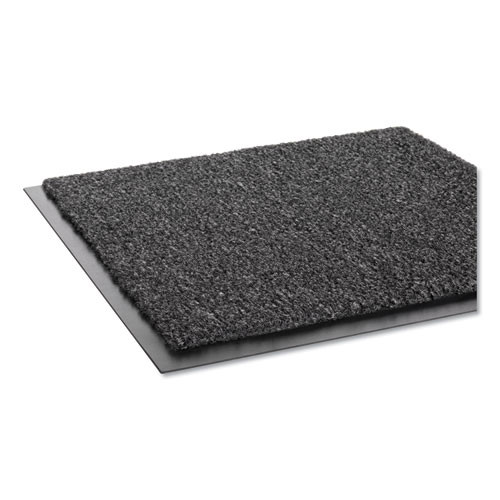 Crown Rely-On Olefin Indoor Wiper Mat  36 x 48  Charcoal (CRO GS34 CHA)