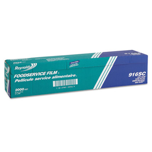 Reynolds Wrap PVC Film Roll with Cutter Box  24  x 2000 ft  Clear (REY 916)