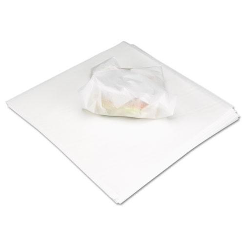 Marcal Deli Wrap Dry Waxed Paper Flat Sheets  12 x 12  White  5000 Carton (MCD 8222)
