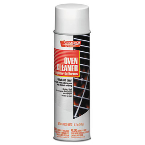 Chase Products Champion Sprayon Oven Cleaner  18oz  Aerosol  12 Carton (CHA 5177)