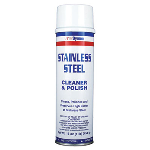 Dymon Stainless Steel Cleaner, 20oz, Aerosol, 12/Carton (DYM 20920)