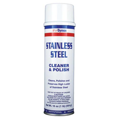 Dymon Stainless Steel Cleaner  16oz  Aerosol  12 Carton (DYM 20920)