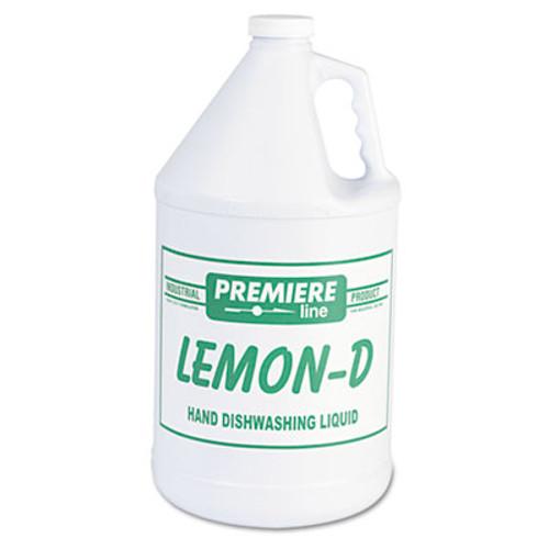 Kess Lemon-D Dishwashing Liquid  Lemon  1gal  Bottle  4 Carton (KES LEMON-D)