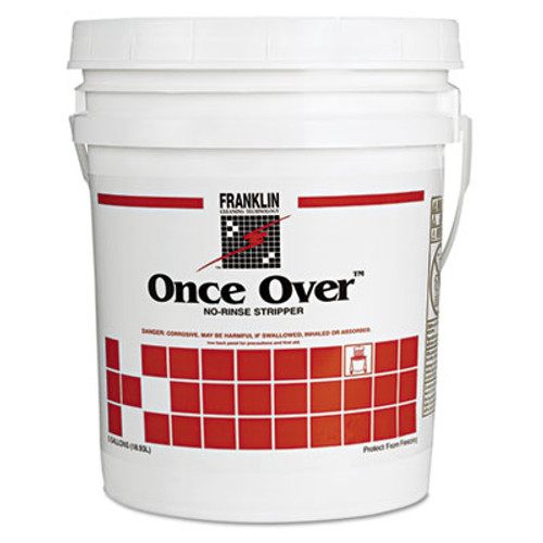 Franklin Cleaning Technology Once Over Floor Stripper  Liquid  5 gal  Pail (FRK F200026)