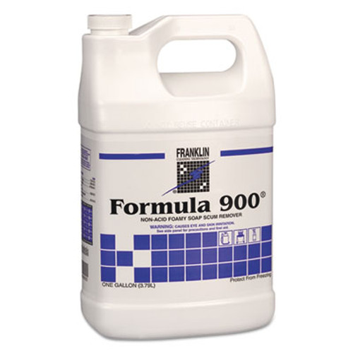 Franklin Cleaning Technology Formula 900 Soap Scum Remover, Liquid, 1 gal. Bottle (FRK F967022)