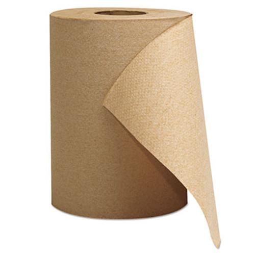 GEN Hardwound Roll Towels  1-Ply  Brown  8  x 300 ft  12 Rolls Carton (GEN 1804)