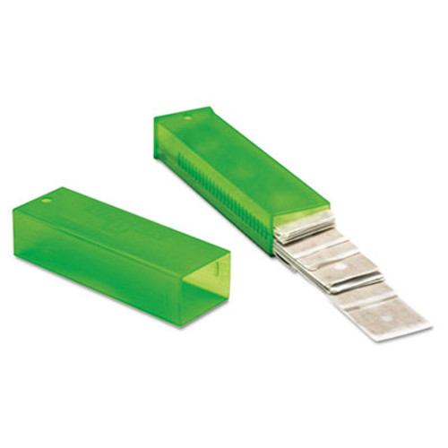 "Unger ErgoTec Glass Scraper Replacement Blades, 4"" Double-Edge, 25/Pack (UNG TR10)"