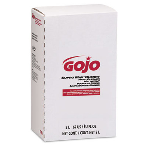 GOJO Supro Max Cherry Lotion Hand Cleaner, 2000 ml Refill (GOJ 7282-04)