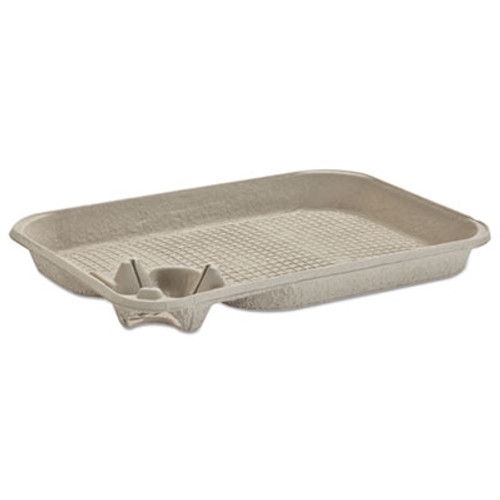Chinet StrongHolder Molded Fiber Cup Food Tray  8-22oz  One Cup  200 Carton (HUH FOCUS)