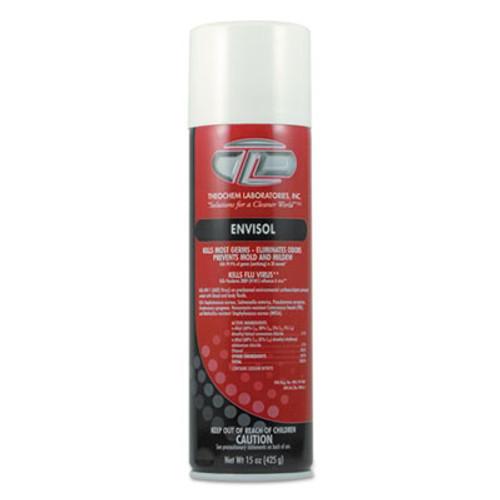 Theochem Laboratories ENVISOL Aerosol Disinfecting Deodorizer  Neutral  20 oz  12 Carton (TOL 2660)