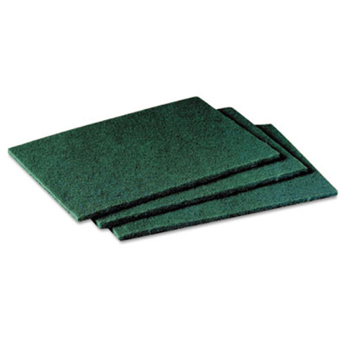 Scotch-Brite PROFESSIONAL General Purpose Scrub Pad  3 x 4 1 2  Green  40 per Box 2 Boxes per Carton (MCO 59166)