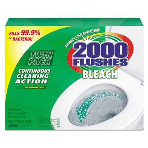 WD-40 2000 Flushes Plus Bleach  1 25oz  Box  2 Pack  6 Packs Carton (WDC 290088)