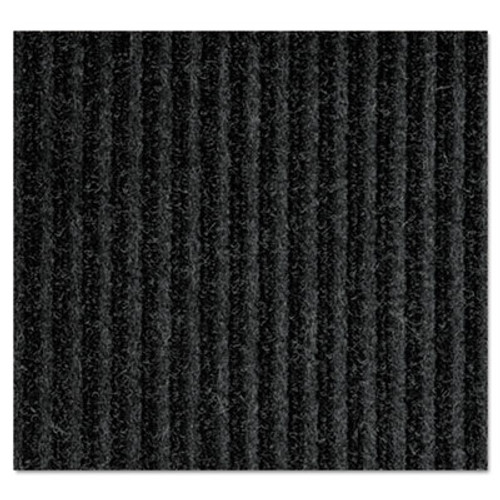Crown Needle-Rib Wiper/Scraper Mat, Polypropylene, 36 x 48, Charcoal (CRO NR34 CHA)