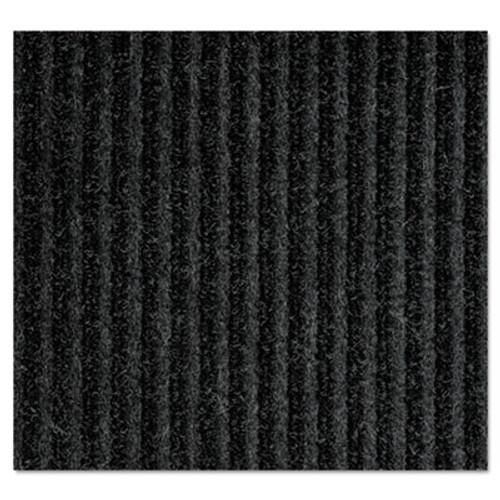 Crown Needle-Rib Wiper Scraper Mat  Polypropylene  36 x 48  Charcoal (CRO NR34 CHA)
