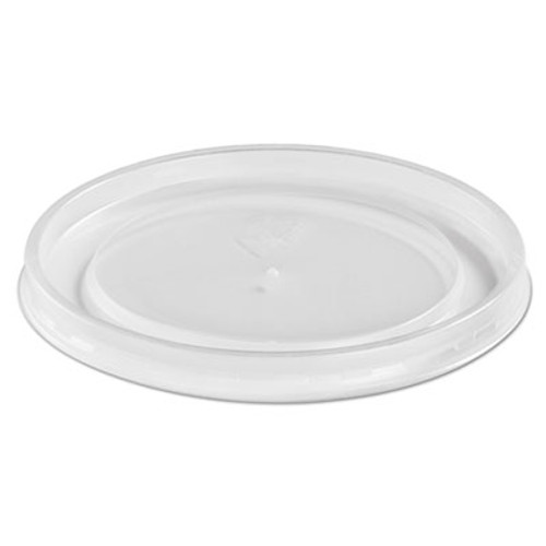 Chinet Plastic High Heat Vented Lid, Fits 16-32 oz, White, 50/Bag, 10/Bags Carton (HUH 89112)