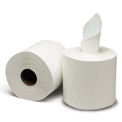 GEN Center-Pull Paper Towels  8w x 10l  White  600 Roll  6 Rolls Carton (GEN 1925)