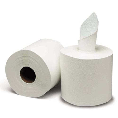 GEN Center-Pull Paper Towels  8w x 10l  White  600 Roll  6 Rolls Carton (GEN 1925)