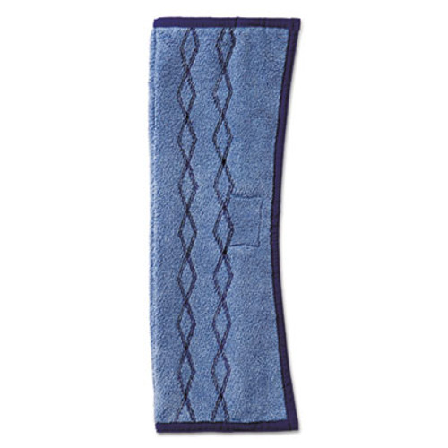 Rubbermaid Commercial HYGEN HYGEN Dust Scrub Microfiber Plus Pad  12 x 17 1 2  Blue (RCP 1791680)