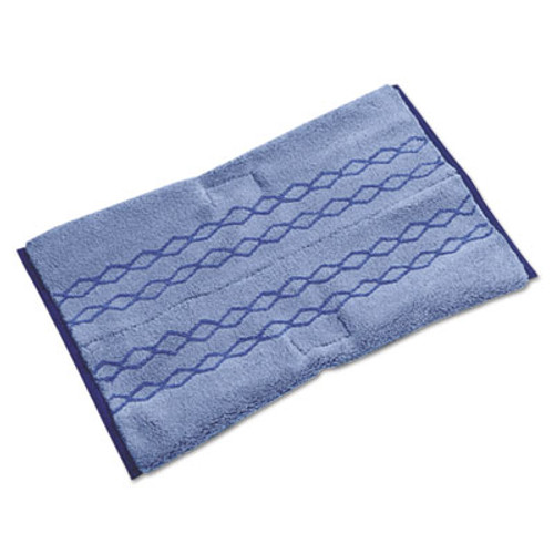 Rubbermaid Commercial HYGEN HYGEN Dust Scrub Microfiber Plus Pad  12 x 17 1 2  Blue (RCP 1791680)