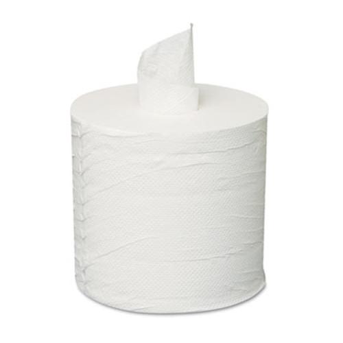 GEN Centerpull Towels  2-Ply  White  600 Roll  6 Rolls Carton (GEN 203)