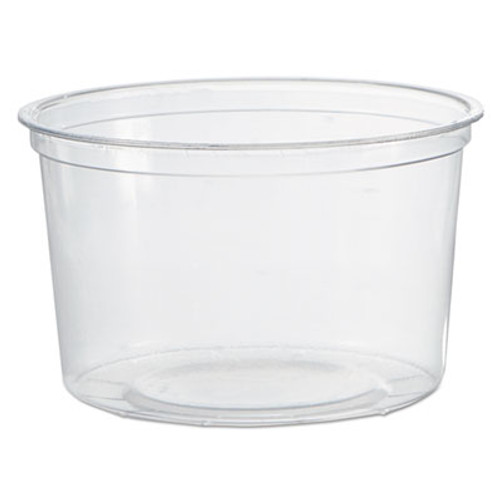 WNA Deli Containers  Clear  16oz  50 Pack  10 Packs Carton (WNA APCTR16)