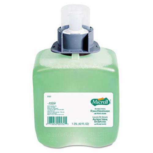 GOJO Antibacterial Foam Handwash, Floral Scent, 1250 ml Refill (GOJ 5157-03)