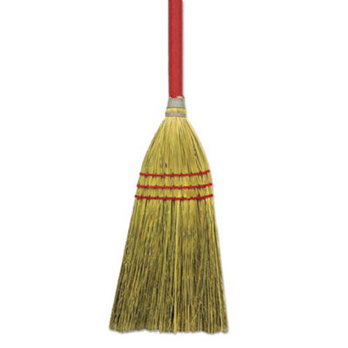 Boardwalk Corn Fiber Lobby Brooms  36   Gray Natural  12 Carton (BWK BR10016)