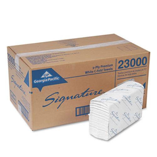 Georgia Pacific Professional Pacific Blue Select C-Fold Paper Towels  10 1 10 x 13 1 5 White 120 PK 12 PK Ct (GPC 230)