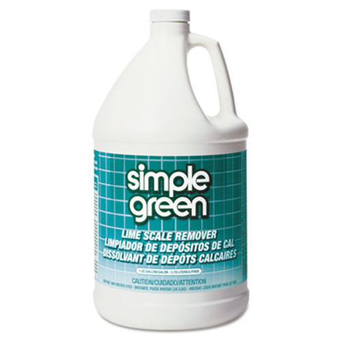 Simple Green Lime Scale Remover, Wintergreen, 1 gal, Bottle, 6/Carton (SMP 50128)