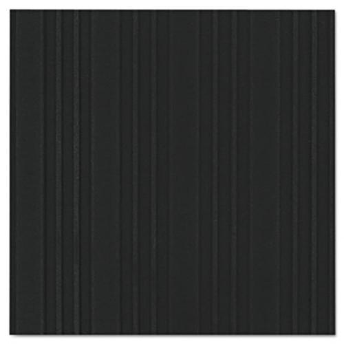 Crown Ribbed Vinyl Anti-Fatigue Mat  36 x 60  Black (CRO FL3660 BLA)