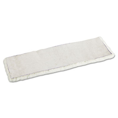 Boardwalk Mop Head  Applicator Refill Pad  Lambswool  18-Inch  White (UNS 4518)