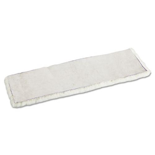 Boardwalk Mop Head  Applicator Refill Pad  Lambswool  18-Inch  White (UNS 4518)