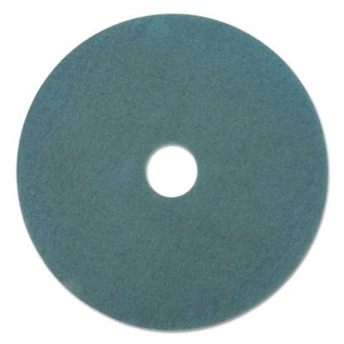 Boardwalk Standard 18-Inch Diameter Scrubbing Floor Pads, Blue, 5/Carton (PAD 4018 BLU)