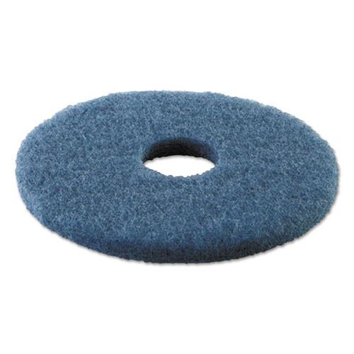 Boardwalk Scrubbing Floor Pads  14  Diameter  Blue  5 Carton (PAD 4014 BLU)