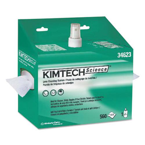Kimtech Lens Cleaning Station  8oz Spray  4 2 5 X 8 1 2  560 Box  4 Boxes Carton (KCC 34623)