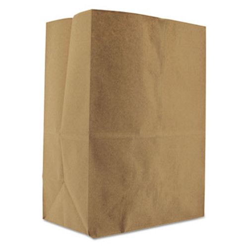 General Grocery Paper Bags  52 lbs Capacity  1 8 BBL  10 13 w x 6 75 d x 14 38 h  Kraft  500 Bags (BAG SK1852)