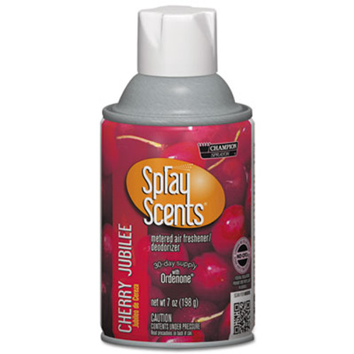 Chase Products SPRAYScents Metered Air Freshener Refill  Cherry Jubilee  7 oz Aerosol  12 Carton (CHA 5181)