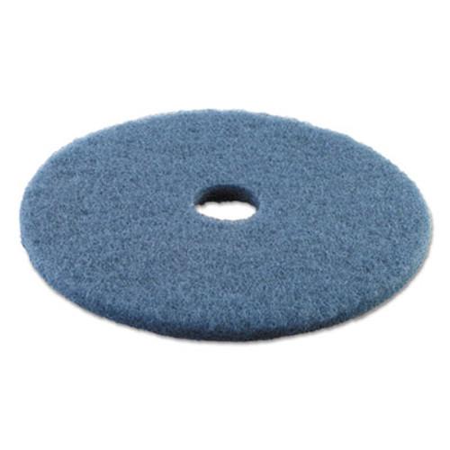 Boardwalk Standard 19-Inch Diameter Scrubbing Floor Pads, Blue (PAD 4019 BLU)