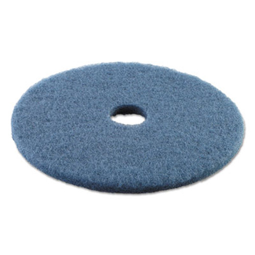 Boardwalk Scrubbing Floor Pads  19  Diameter  Blue  5 Carton (PAD 4019 BLU)