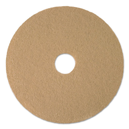 Boardwalk Aqua Burnishing Floor Pads  21  Diameter  5 Carton (PAD 4021 AQU)