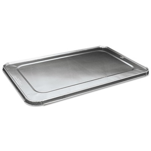 Boardwalk Full Size Aluminum Steam Table Pan Lid  Deep  50 Carton (BWK LIDSTEAMFL)