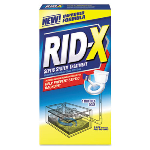 RID-X Septic System Treatment Concentrated Powder  9 8 oz  12 Carton (REC 80306)