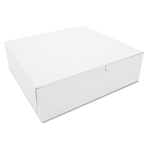 SCT Tuck-Top Bakery Boxes  10w x 10d x 3h  White  200 Carton (SCH 0971)