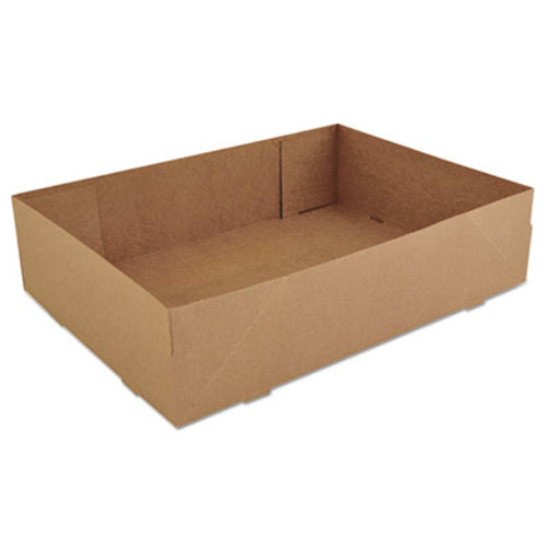 SCT Donut Trays, 13 1/2w x 9 7/8d x 3 3/8h, Brown, 250/Carton (SCH 1270)