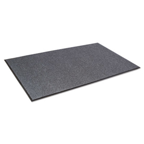 Crown Needle Rib Wipe and Scrape Mat  Polypropylene  36 x 60  Gray (CRO NR35 CHA)