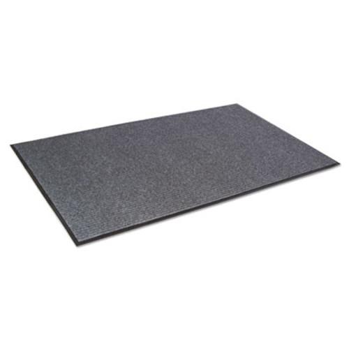 Crown Needle Rib Wipe and Scrape Mat  Polypropylene  36 x 60  Gray (CRO NR35 CHA)