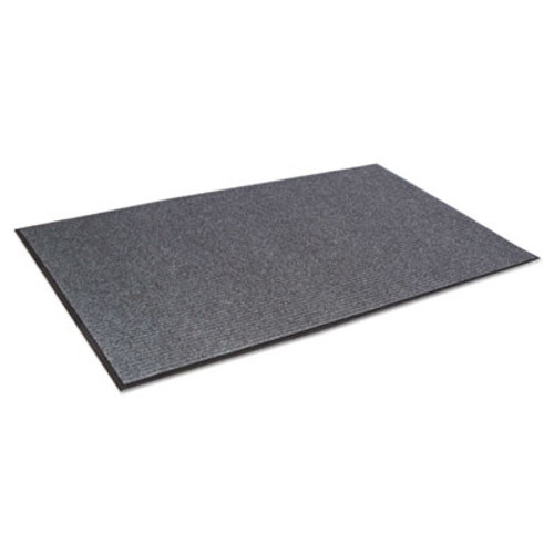 Crown Needle Rib Wipe and Scrape Mat  Polypropylene  48 x 72  Gray (CRO NR46 CHA)